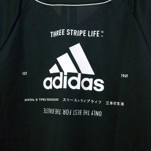 adidas Mens Sport 2 Street Jersey